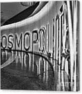 The Cosmopolitan Hotel Las Vegas By Diana Sainz Canvas Print