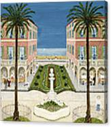 The Cote Dazur, 1981 Canvas Print