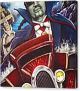 The Count Cool Rider Canvas Print