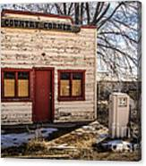 The Country Corner Canvas Print