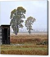 The Country Outhouse Canvas Print