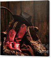 The Cowgirl Rest Canvas Print
