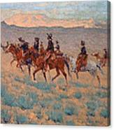 The Cowpunchers Canvas Print