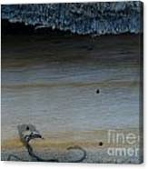 The Creature That Ate The Rings Of Saturn  Canvas Print