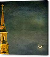The Cross And The Crescent Canvas Print