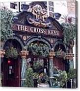 The Cross Keys Canvas Print