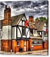 The Cross Keys Pub Dagenham Canvas Print