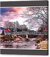 The Crossing II Brenton Woods Nh Canvas Print