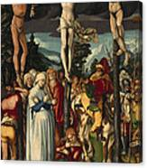 The Crucifixion Of Christ Canvas Print