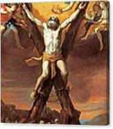 The Crucifixion Of St Andrew Canvas Print