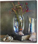 The Crystal Vase Canvas Print