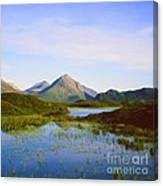 The Cuillin Hills Of Skye In The Western Isles Canvas Print
