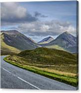 The Cuillin Mountains Of Skye 2 Canvas Print