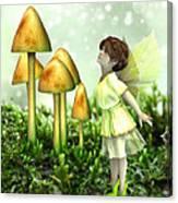 The Curious Fairy Canvas Print