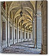 The Curve In Color Canvas Print