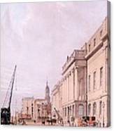 The Custom House, From London Canvas Print