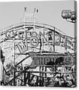 The Cyclone In Black And White Canvas Print