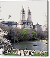 The Dakota From Central Park Canvas Print