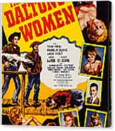 The Daltons Women, Lash Larue, Far Canvas Print