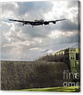 The Dambusters Over The Derwent Canvas Print
