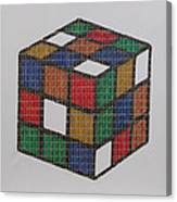 The Dammed Cube Canvas Print