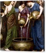 The Danaides Canvas Print