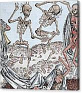 The Dance Of Death Canvas Print