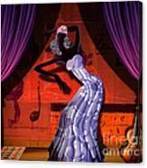 The Dancer V2 Canvas Print