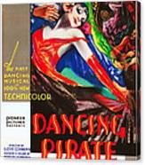 The Dancing Pirate, Us Poster Art Canvas Print