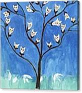 The Darling Buds Of February Canvas Print