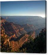 The Day Begins Grand Canyon Canvas Print