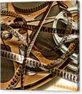 The Days Of Film Canvas Print