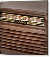 The Days Of Radio Canvas Print