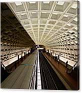 The D.c. Metro Canvas Print