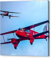 The De Havilland Dh90 Dragonfly Canvas Print