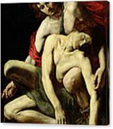 The Death Of Hyacinthus  Canvas Print