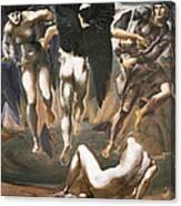 The Death Of Medusa II, 1882 Canvas Print
