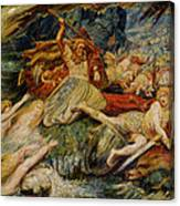 The Death Of Siegfried Canvas Print