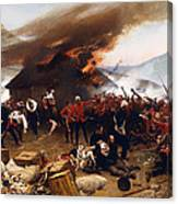 The Defence Of Rorke's Drift 1879 Canvas Print