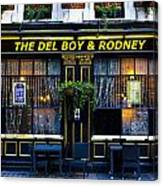 The Del Boy And Rodney Pub Canvas Print