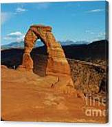 The Delicate Arch 10 Canvas Print