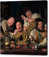 The Dentist Homage To Caravaggio Metal Print By Derek Galon Ma