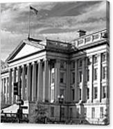 The Department Of Treasury Canvas Print