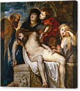 The Deposition Canvas Print