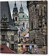 The Depths Of Prague Canvas Print