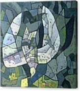 The Descending Dove Libra, 1966 Canvas Print