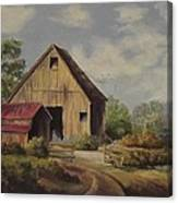 The Deserted Barn Canvas Print