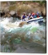 The Deshka River Alaska Canvas Print