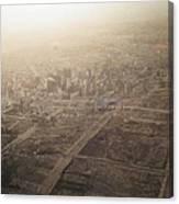 The Destruction Of San Francisco Canvas Print