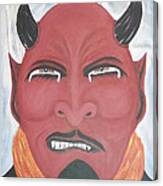 The Devil Is The Detail Canvas Print
